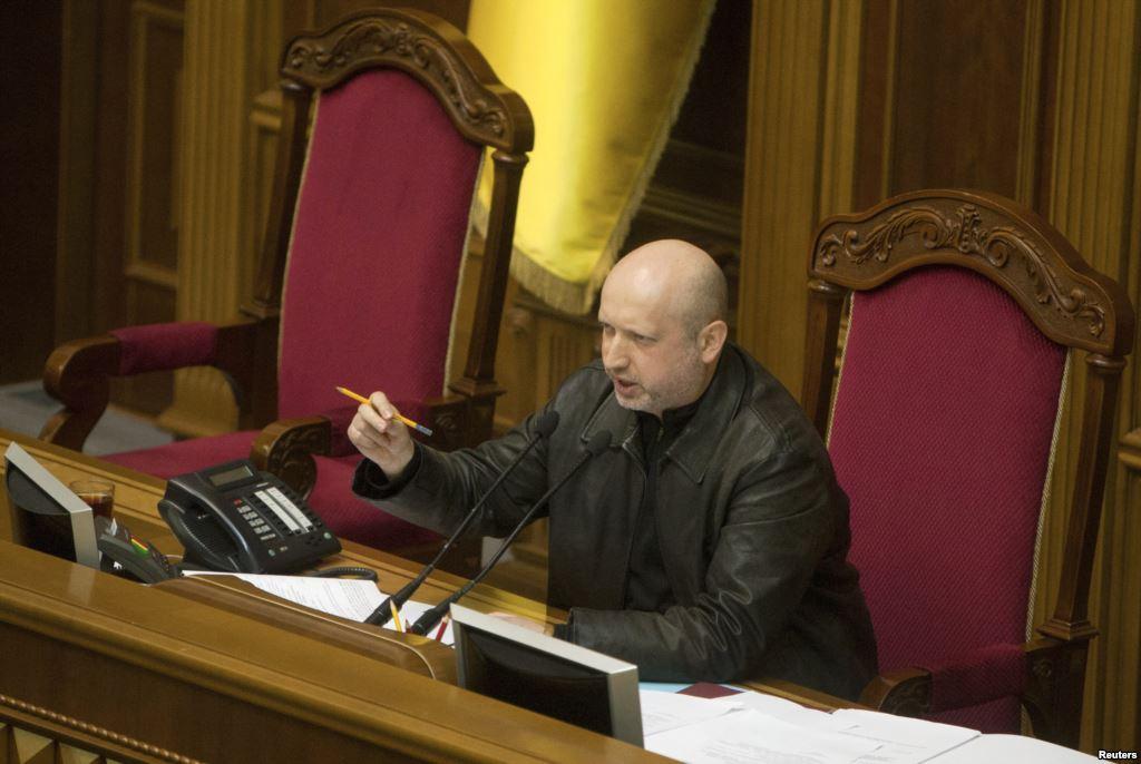 وعده رئیس جمهور موقت اوکراین: حرکت بسوی اتحادیه اروپا
