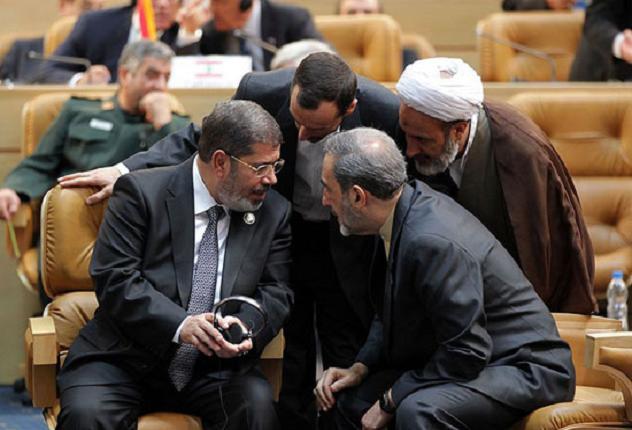 اتهام مرسی: دادن اطلاعات به سپاه پاسداران انقلاب اسلامی در ایران