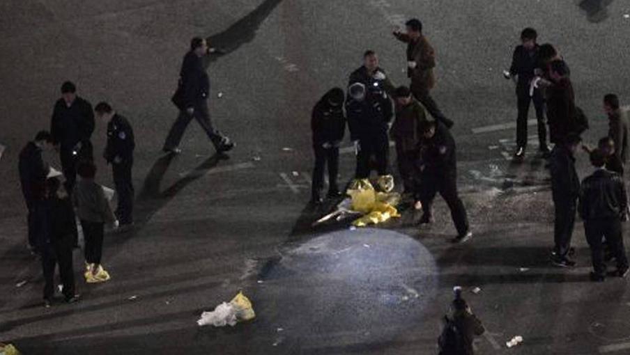 حمله مردان مسلح به چاقو در ایستگاه قطاری در چین 29 کشته و108 مجروح برجای گذاشت