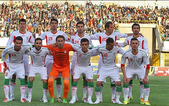 برتری تیم ملی فوتبال ایران مقابل کویت