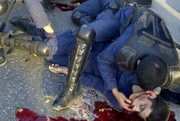 طارق الشحی افسر اماراتی که توسط تروریستهای وابسته به سپاه قدس در منامه به قتل رسید