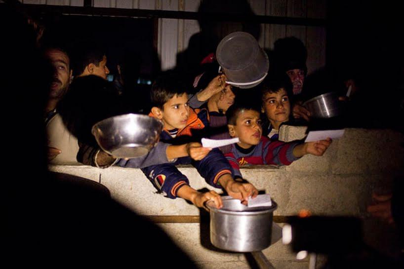 عفو بین الملل: نیروهای دولتی سوریه از «گرسنه نگاه داشتنِ افراد تحت محاصره» بعنوان سلاح جنگی استفاده می کنند