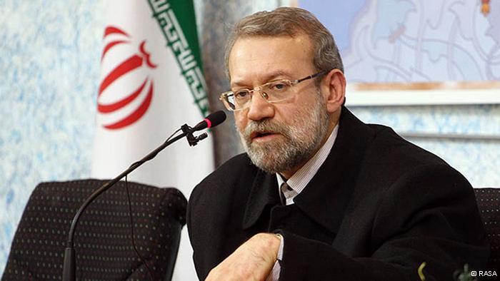 لاریجانی سرنوشت مذاکرات هستهای را به عدم طرح مسائل حقوقبشری گره زد