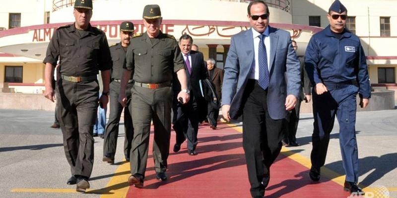 حمایت واشنگتن از کاندیداتوری ژنرال السیسی برای احراز پست ریاست جمهوری در مصر