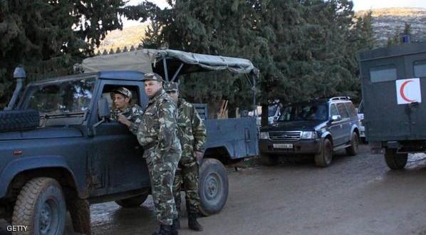 در یک سوء قصد تروریستی چهارده نظامی الجزایری قربانی شدند