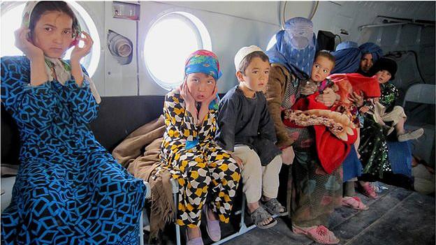 عملیات نجات سیل زدگان افغانستان آغاز شد