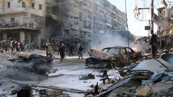 انفجار هتل ۱۵۰ ساله حلب را ویران کرد