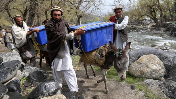 نتایج نهایی انتخابات ریاست جمهوری افغانستان اعلان شد