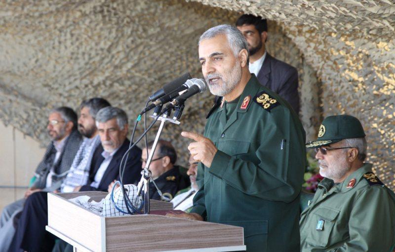 سایه قاسم سلیمانی در کردستان عراق