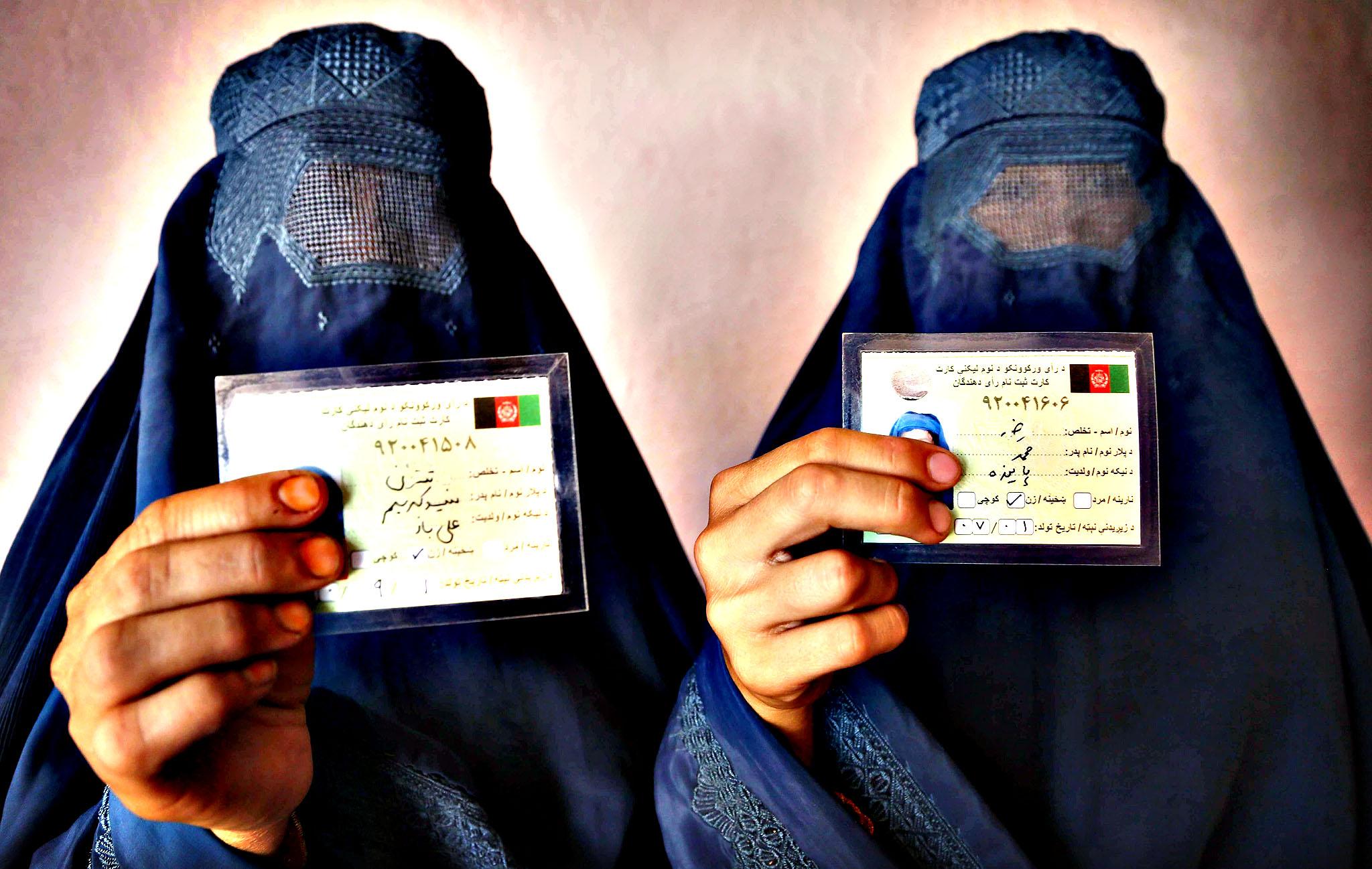 مشارکت ۶۰ درصدی در انتخابات ریاست جمهوری افغانستان