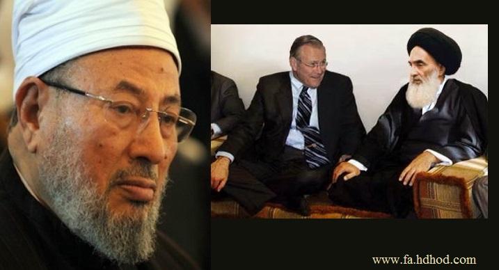 اتحادیه جهانی علمای مسلمین با اعتراض به فتوای مرجع شیعه مسلحان مخالف حکومت عراق را انقلابیون میهنی خواند