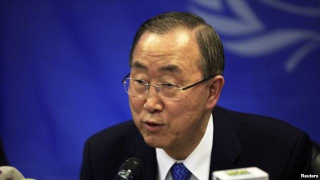بان کی مون: حمله نظامی به عراق نتیجه معکوس می دهد