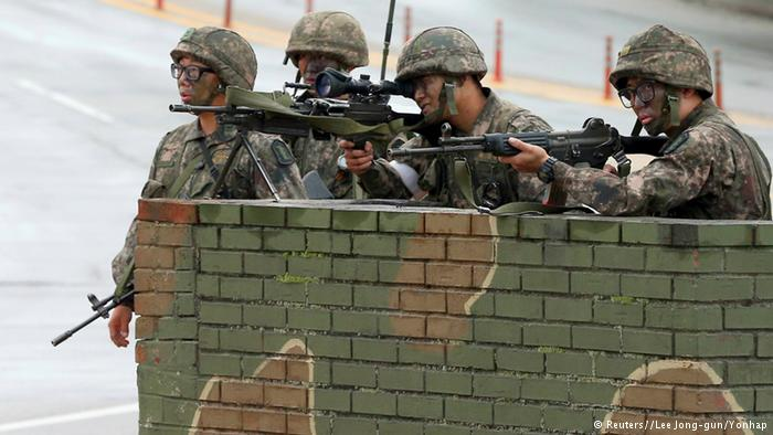 یک سرباز کره جنوبی پنج همقطارش را کشت