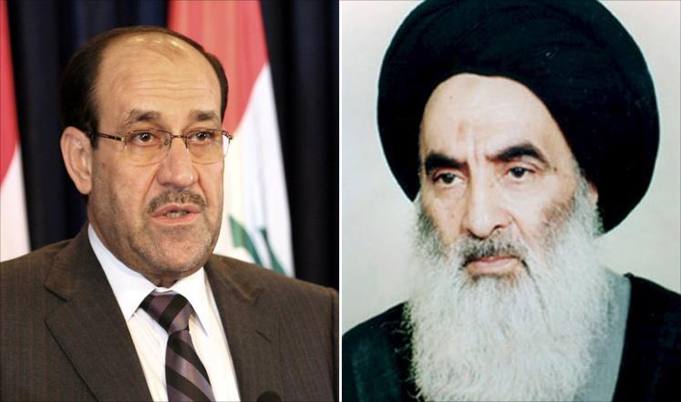 آیت الله سیستانی نخست وزیر عراق را تهدید به خلع کرد