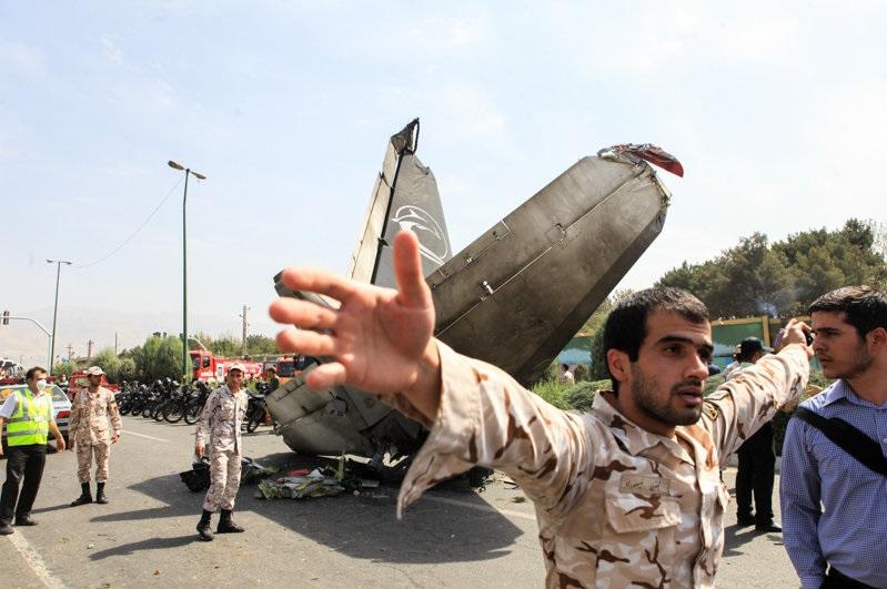 سقوط دومین هواپیمای مسافربری ساخت سپاه پاسداران
