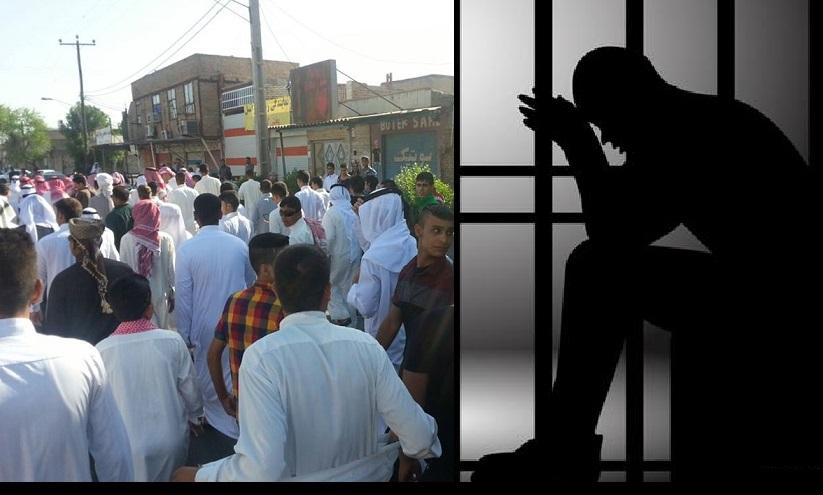 بازداشت گروهی از شرکت کنندگان در راهپیمایی مسالمت آمیز عید فطر در اهواز