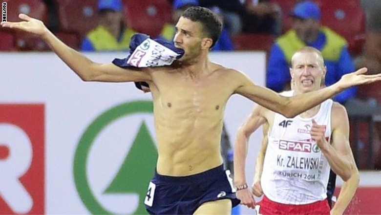 عجله،دونده فرانسوی را از مدال طلای قهرمانی اروپا محروم کرد