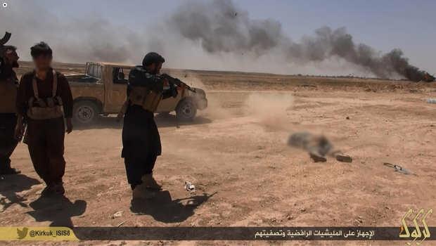داعش:كشته ومجروح شدن بيش از 200 تن از افراد پيشمرگه و آسايش در كركوك