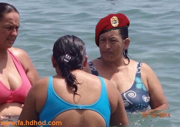 اشتباه نگیرید این عکس،عکس هوگو چاوز نیست!