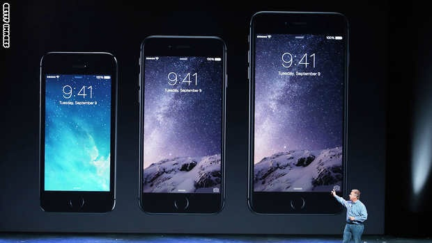 رونمایی از محصولات جدید اپل: آیفونهای 6 و آیواچ