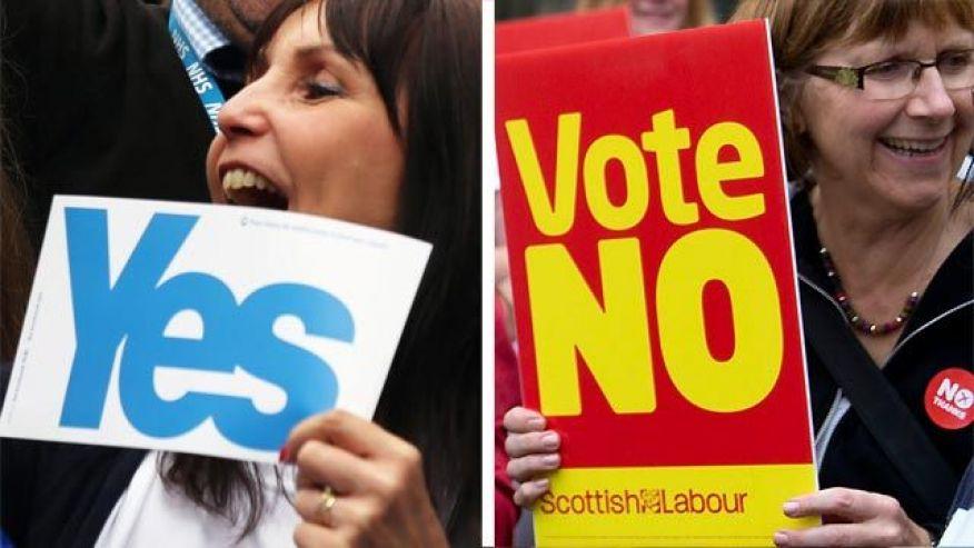 «نه» به استقلال اسکاتلند از بریتانیا