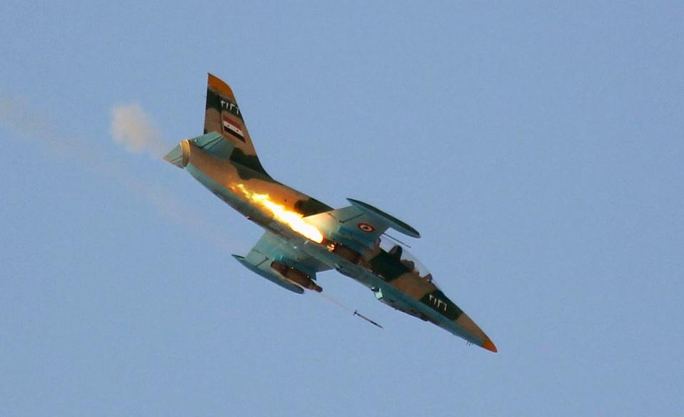 اسرائیل میگ سوری را بر فراز جولان ساقط کرد