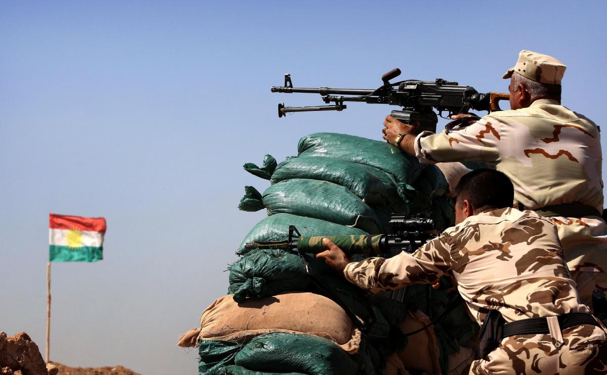 کنترل یک نقطه مهم مرزی عراق و سوریه به دست پیشمرگهها افتاد