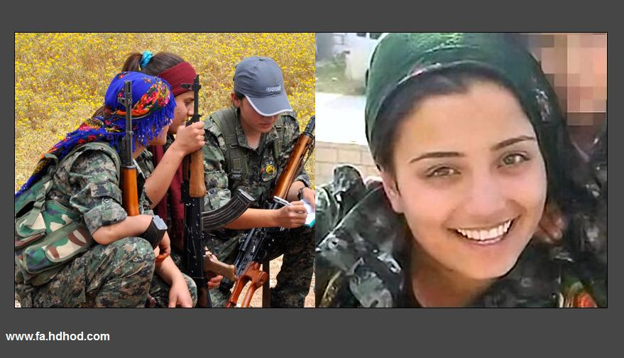 دختر شجاع کردستان با 'عملیات انتحاری' به استقبال نیروهای داعش رفت