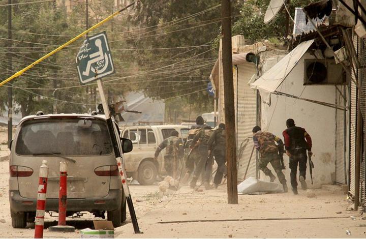 50 کشته ودهها زخمی و اسیر در صفوف سربازان رژیم اسد و شیعیان ایرانی و افغانی در جبهه حلب
