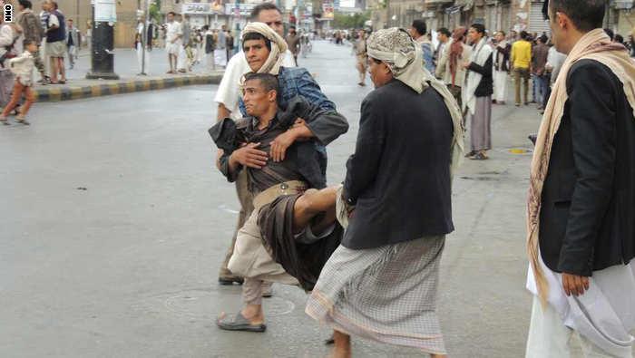 دهها کشته ومجروح تاوان ماجراجویی گروه الحوثی واشغال پایتخت یمن