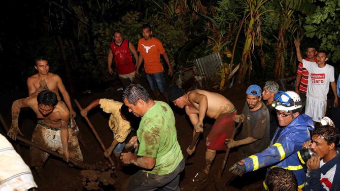 باران شدید در نیکاراگوئه، ویرانی و مرگ آورد