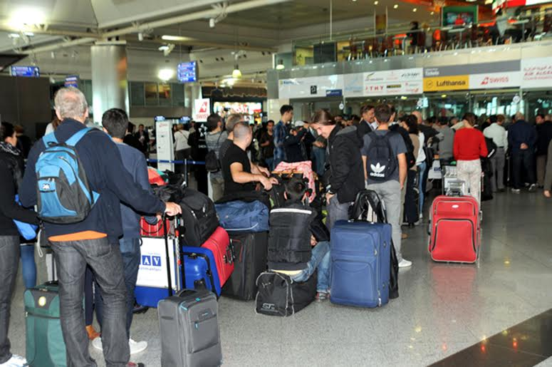 فرودگاه فرانکفورت در پی اعتصاب خلبانان به حالت نیمهتعطیل درآمد