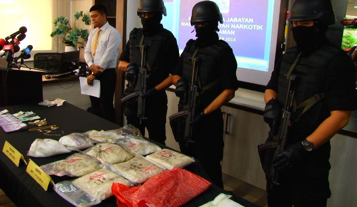 هفت ایرانی به اتهام قاچاق مواد مخدر در مالزی بازداشت شدند