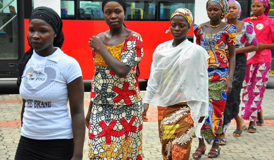 'بوکوحرام ۲۰۰ دختر مدرسهای ربوده شده را عقد کرده است'