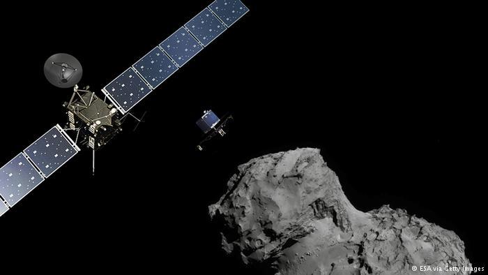کاوشگر فیله موفق به کشف مواد آلی روی دنباله دار شد
