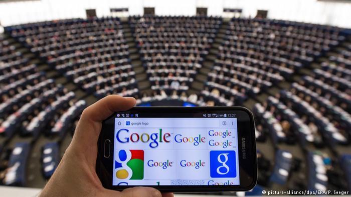 پارلمان اروپا خواستار انحلال گوگل شد