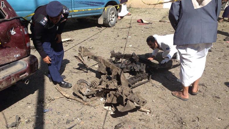 حمله اتومبیل بمبگذاری شده به محل مقر اقامت سفیر جمهوری اسلامی در یمن