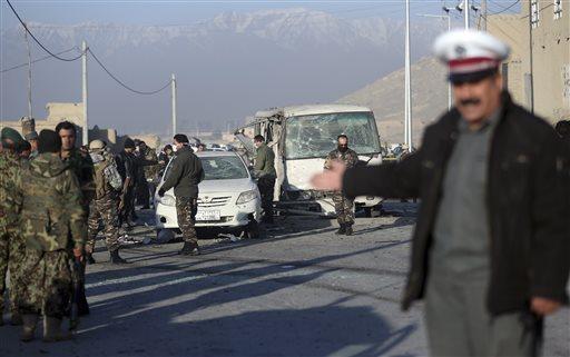 بمبگذار انتحاری مرکز فرهنگی فرانسه در کابل را هدف قرار داد