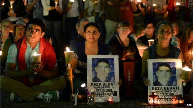 پارلمان استرالیا دولت این کشور را مسئول مرگ پناهجوی ایرانی دانست