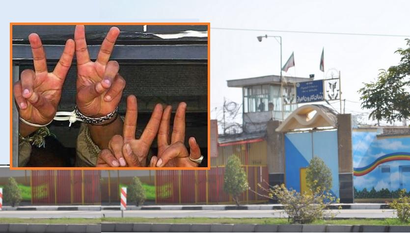 زندانیان سیاسی اهواز اعتصاب غذا کردند