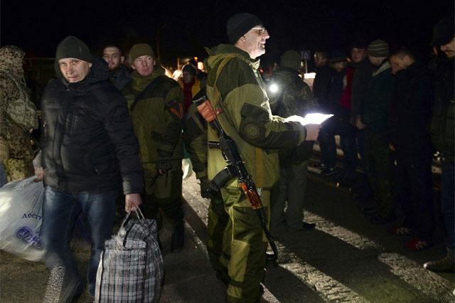 اوکراین و جدایی خواهان صدها اسیر جنگی را مبادله کردند