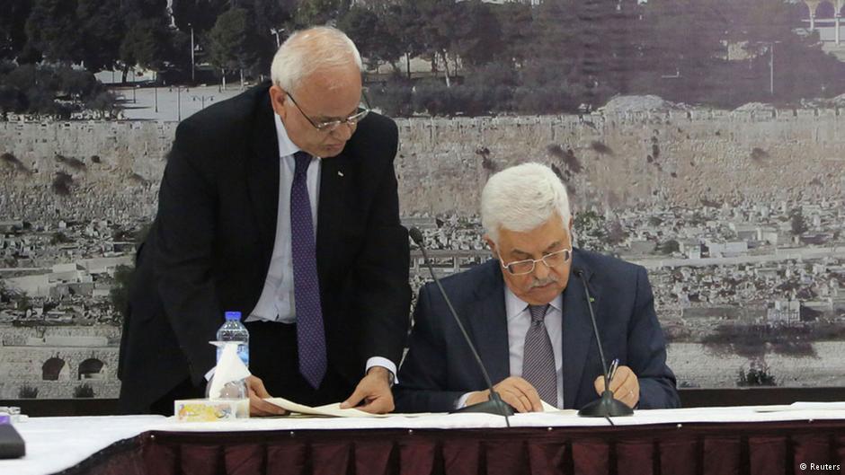 تلاش فلسطینیان برای پیوستن به دیوان بینالمللی کیفری