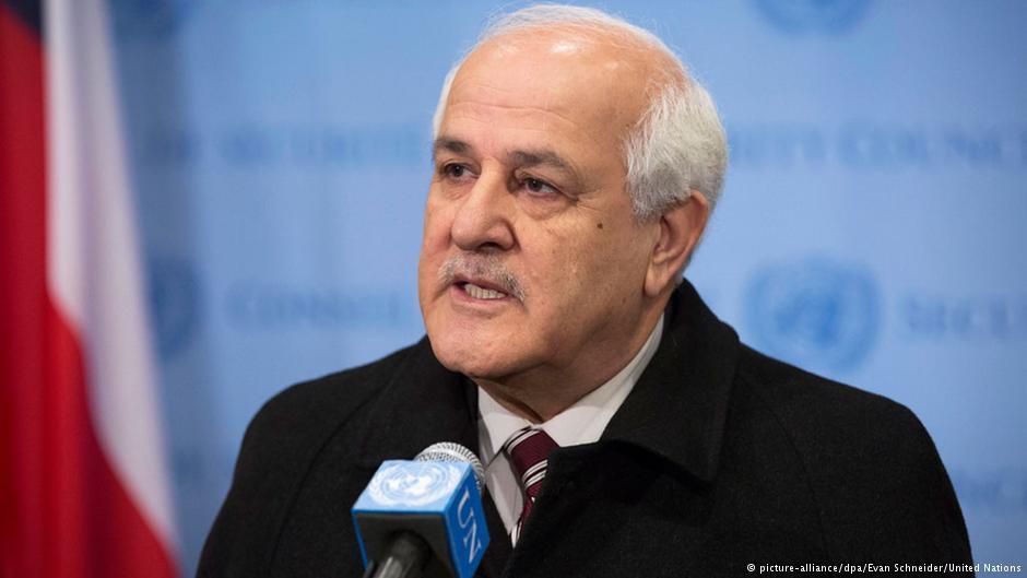 ریاض منصور، نماینده ناظر فلسطیینان در سازمان ملل متحد