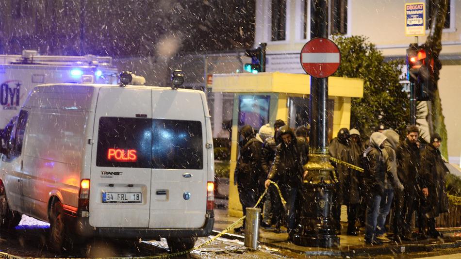 حمله زن انتحاری به مرکز پلیس استانبول