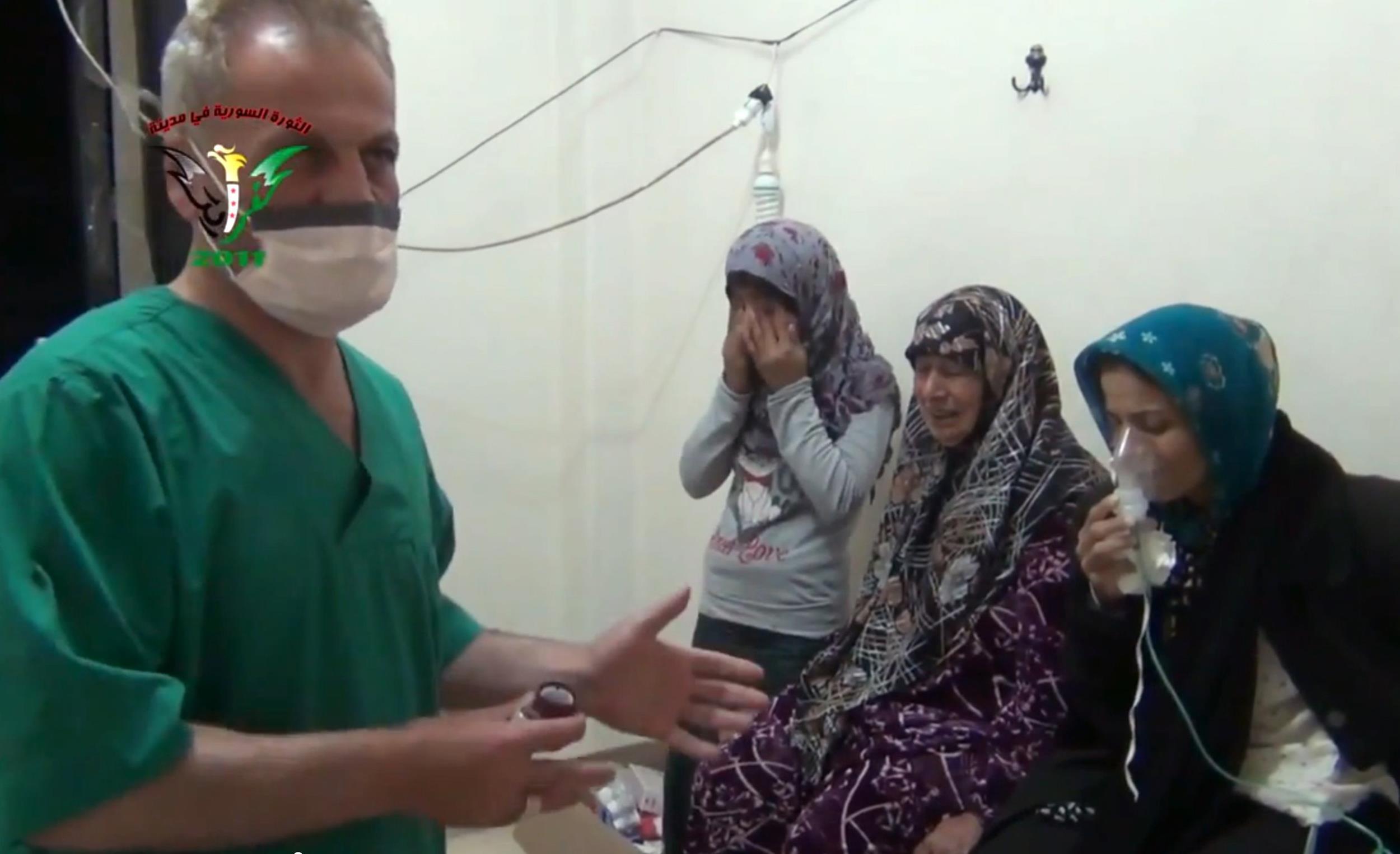استفاده از گاز کلر در حمله به روستاهای سوریه