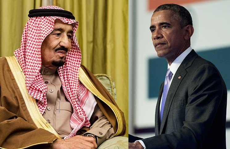 اوباما با پادشاه جدید عربستان سعودی دیدار و گفتوگو میکند