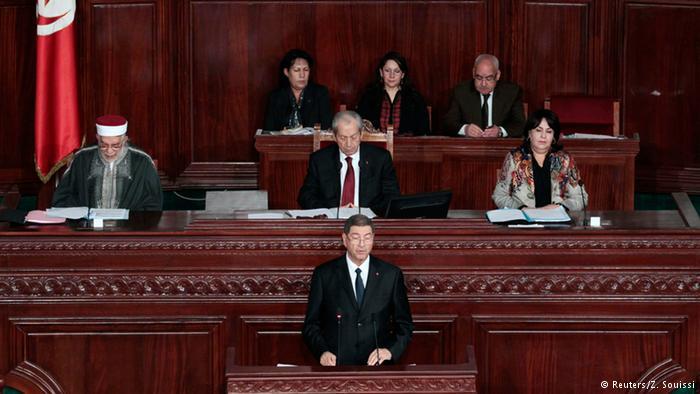 پارلمان تونس به کابینه ائتلافی این کشور رای داد