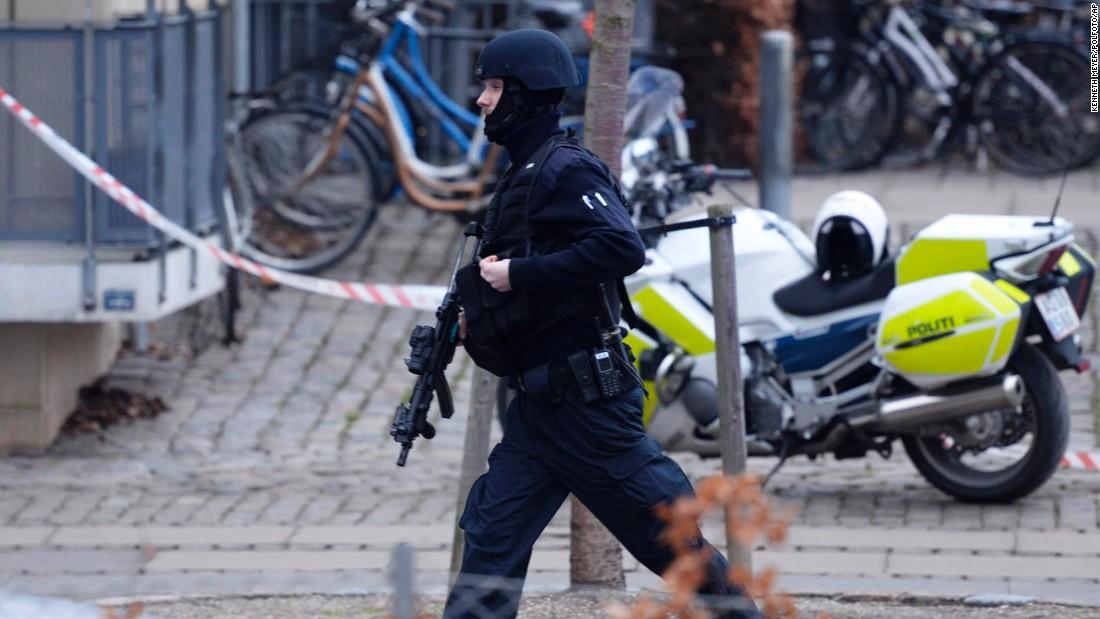 عامل حملات کپنهاگ در درگیری با پلیس کشته شد