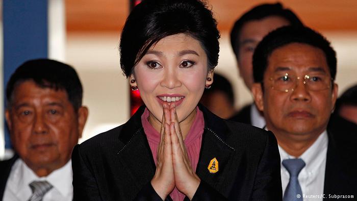 اعلام جرم علیه نخستوزیر سابق تایلند 'برای یارانه برنج'