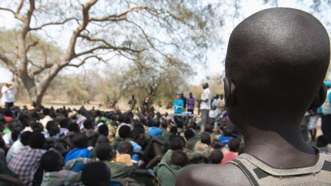 شورشیان مسلح صدها پسربچه را در سودان جنوبی ربودند